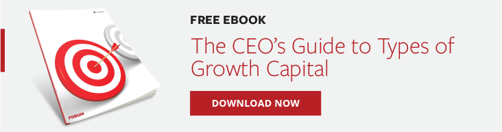 The CEO's Guide to Growth Capital - Banner CTA